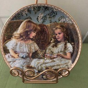 """""""Best Friends"""" Collectors Plate Sandra Kuck #72655"""